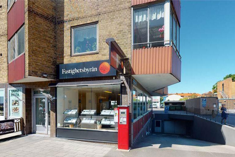 Ledig - butikslokal kontorslokal på Corfitz Beck Friisgatan 1